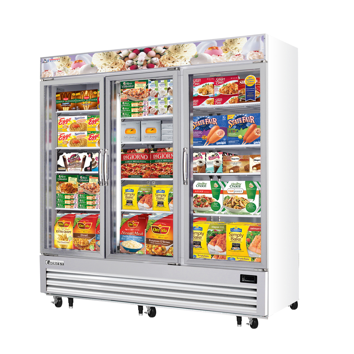 Freezer Mega Restaurant Supply