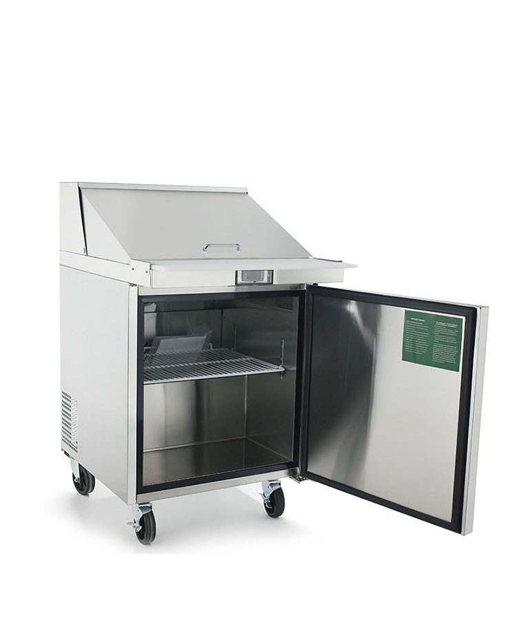 ATOSA MSF Standard Top Sandwich Prep Table Mega Restaurant - Restaurant supply prep table